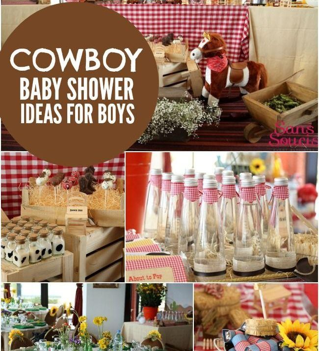 Cowboy Baby Shower Theme Ideas