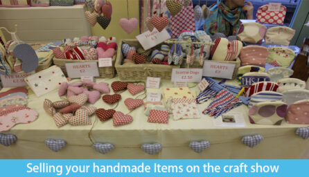 Selling your handmade Items on the craft show