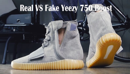Real VS Fake Yeezy 750 Boost