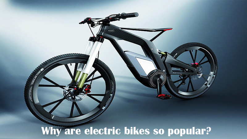 Why are electric bikes so popular?