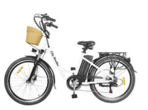 Nakto 350W City Electric Bicycle Aluminum Alloy Frame 26'' Stroller